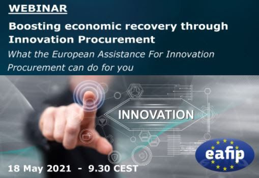 Boosting economic recovery through innovation procurement: what European assistance can do for you